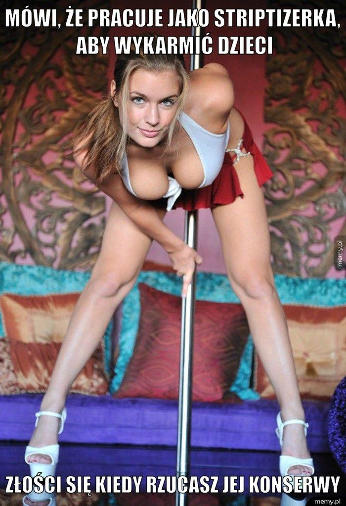 Mówi, że pracuje jako striptizerka, aby wykarmić dzieci Złości się kiedy rzucasz jej konserwy