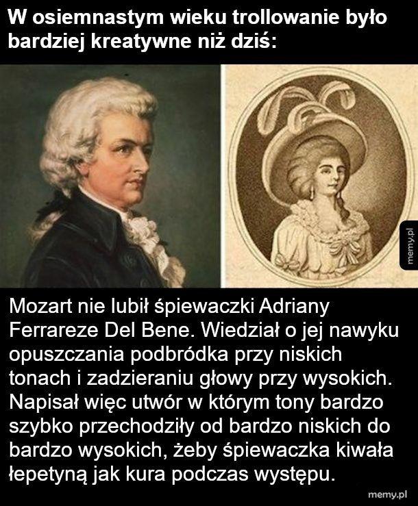 Pan Mozart śmieszek