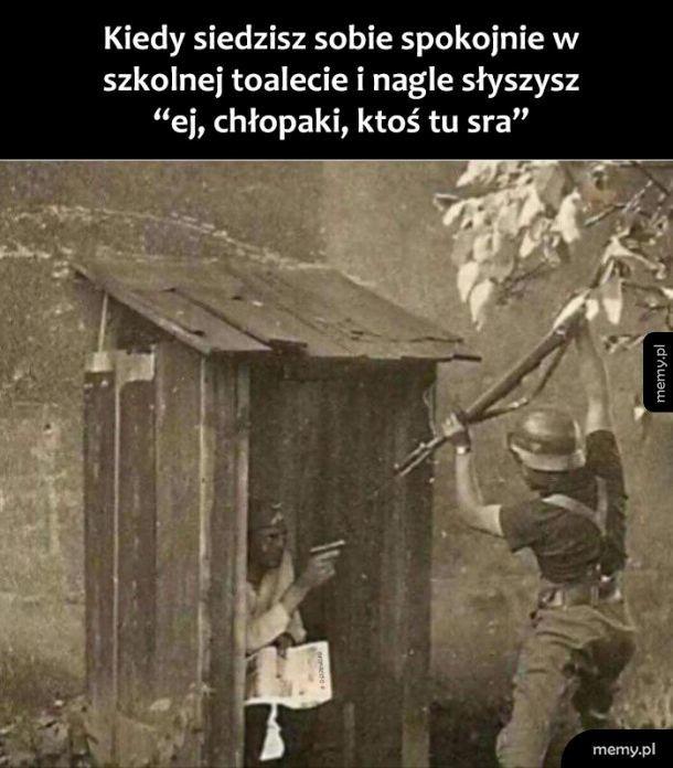 Szkolna toaleta