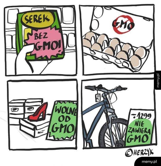 Ten komiks nie zawiera GMO