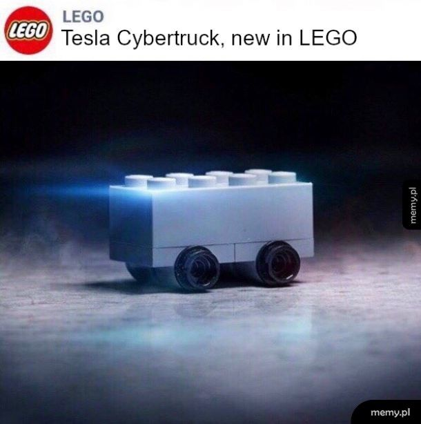 Lego śmieszkuje z Elona