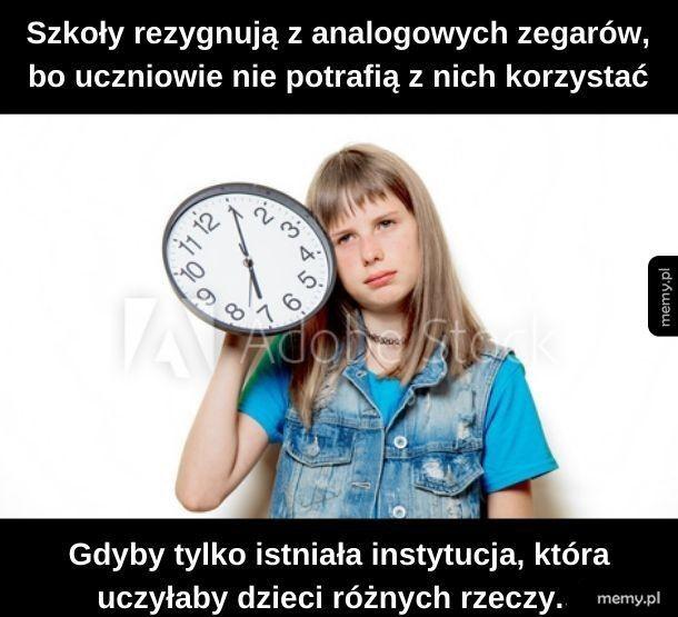 A ty wiesz, która godzina?