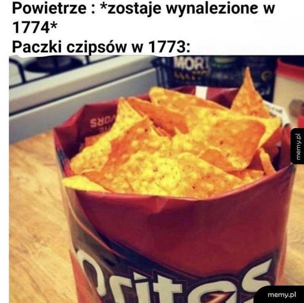 Kiedyś to były chipsy…