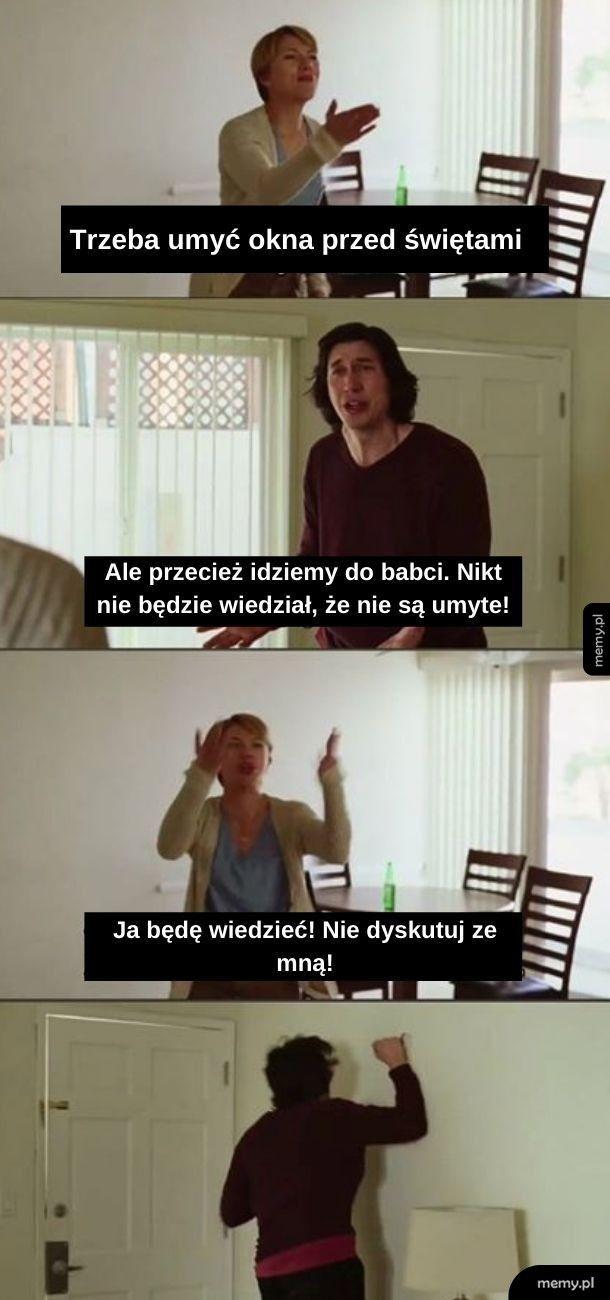 Tymczasem w każdym polskim domu...
