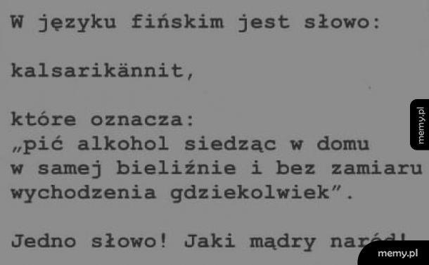 Mądrzy ci Finowie