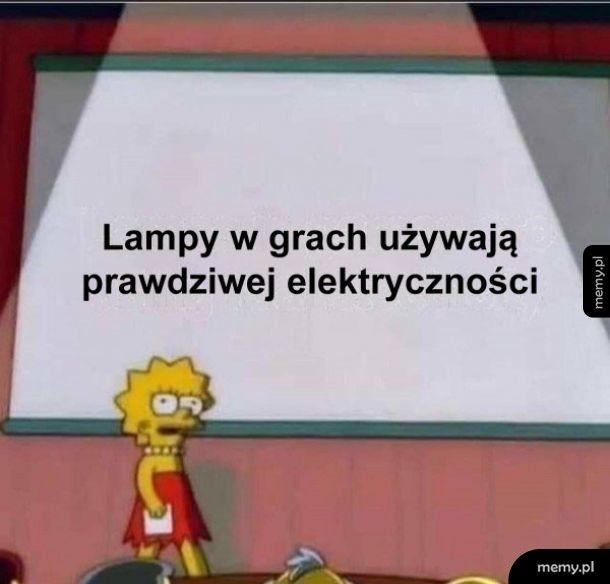 Lampy w grach