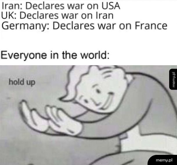 Hold up