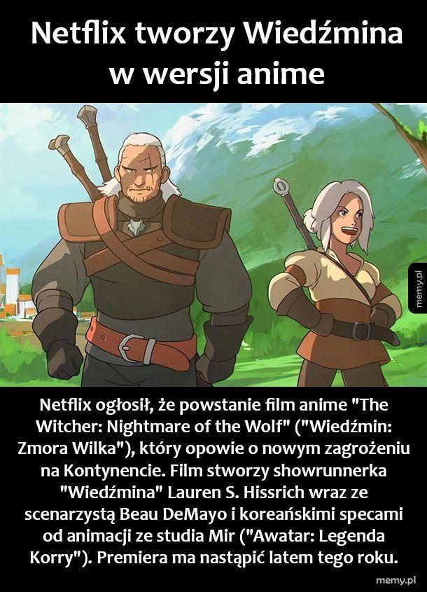 Netflix i Wiedźmin