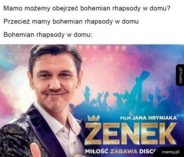 Jaki kraj takie Bohemian Rhapsody