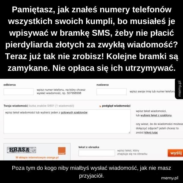 Bramki SMS