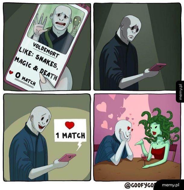 Lubie węże magię i śmierć