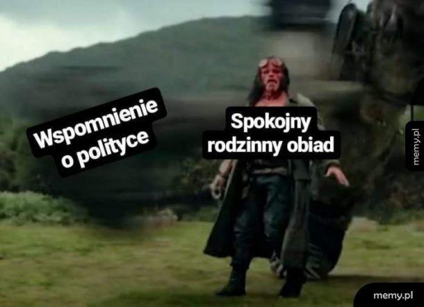 Polityka przy obiedzie