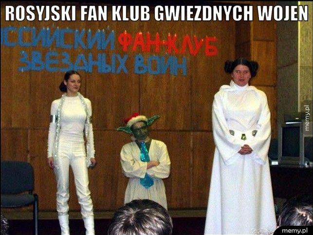 Rosyjski fan klub Gwiezdnych Wojen