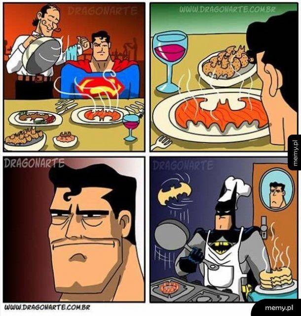 Gotowanie z Batmanem