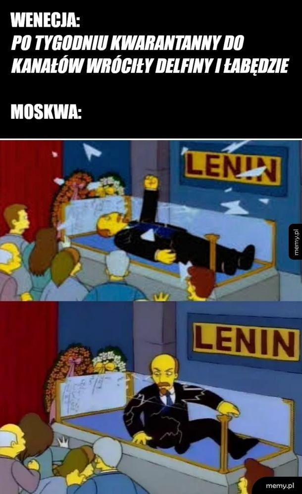 Wenecja vs Moskwa
