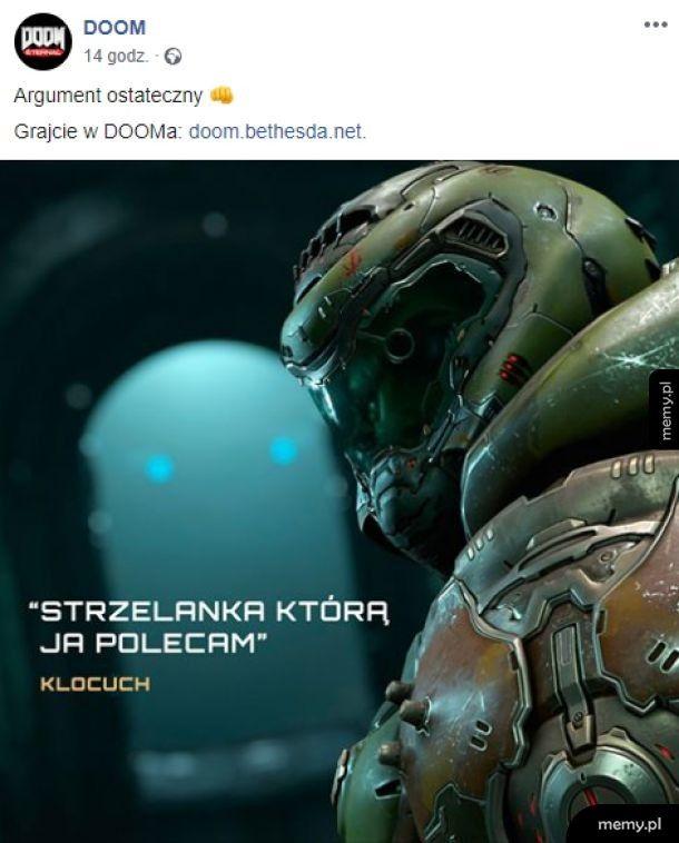 To jest oficjalny polski fanpage Dooma xddd