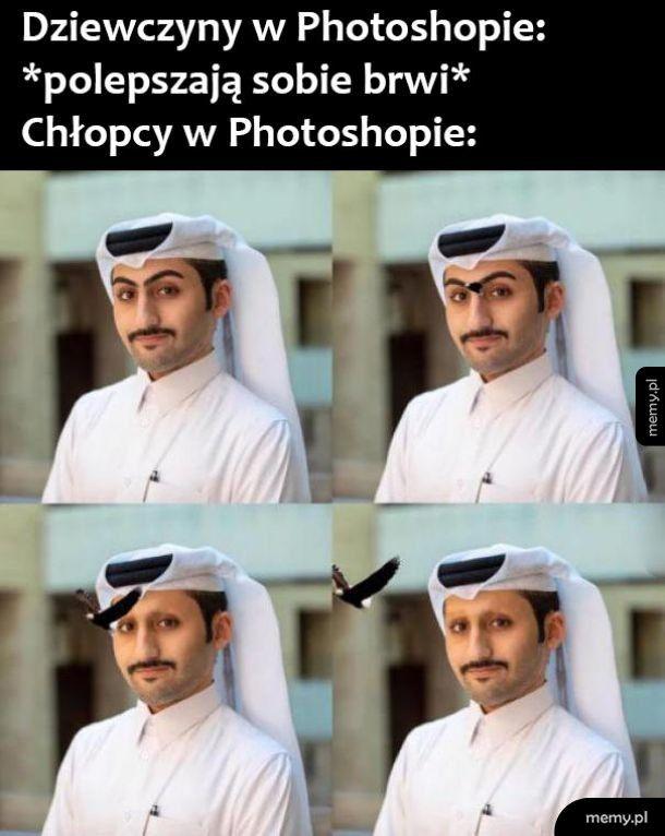 Zabawa photoshopem