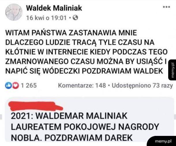 Waldek mówi jak jest