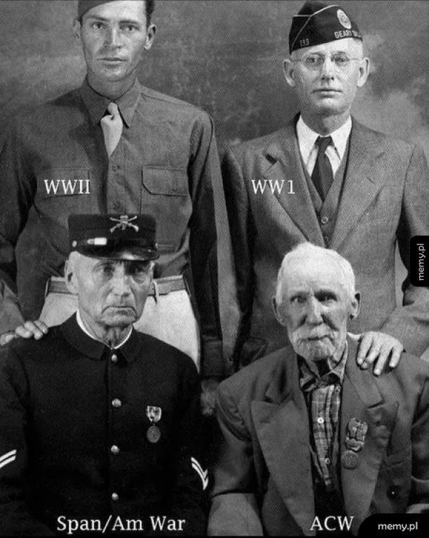 Cztery żołnierskie pokolenia