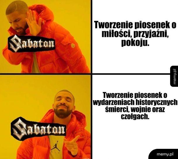 Za to lubię Sabaton.