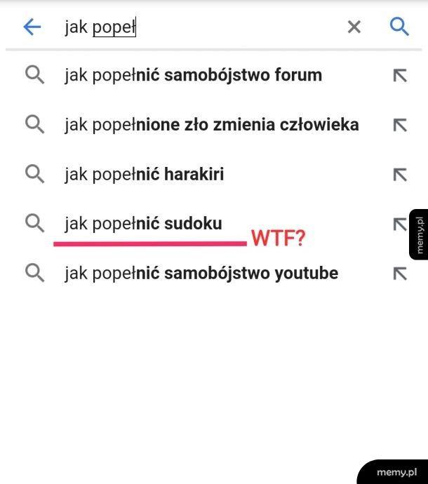 Google podpowiada