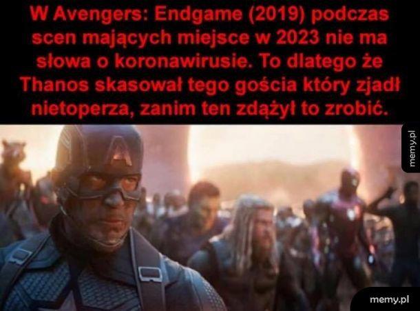 Thanos, the real hero