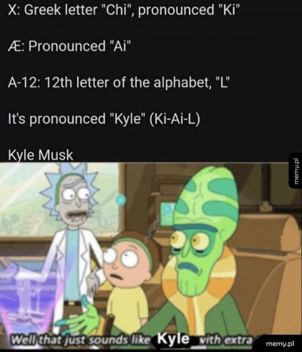 Just Kyle...