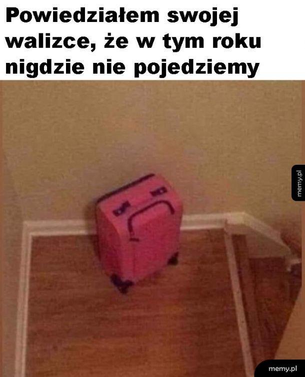 Smutna walizka