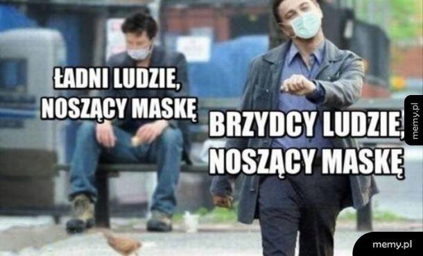 Noszenie maski