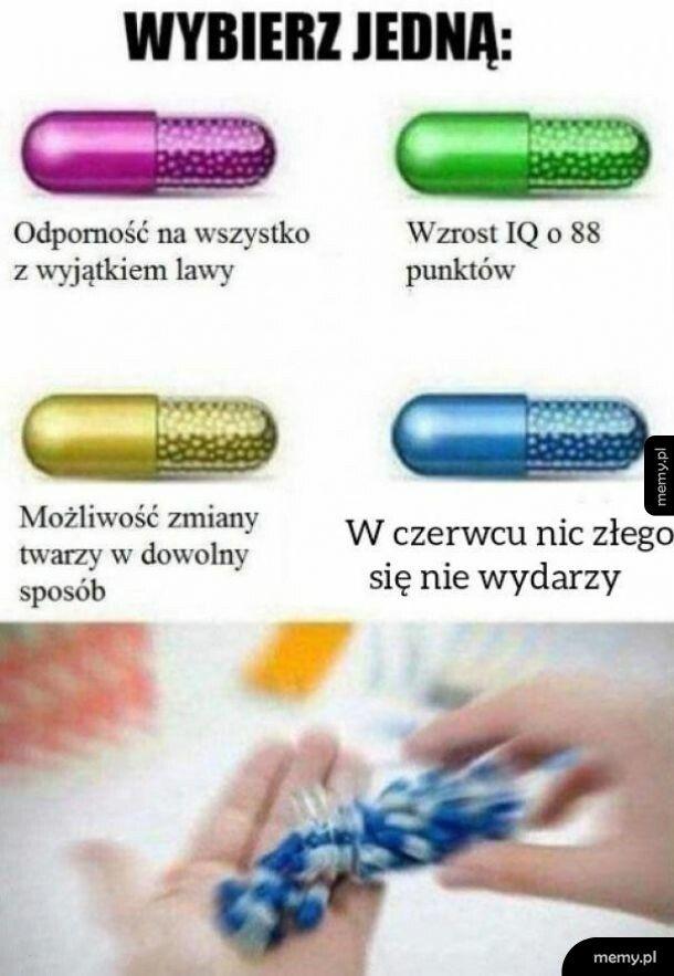 Wybierz jedną