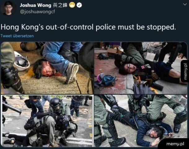 Protesty w Hong-Kongu