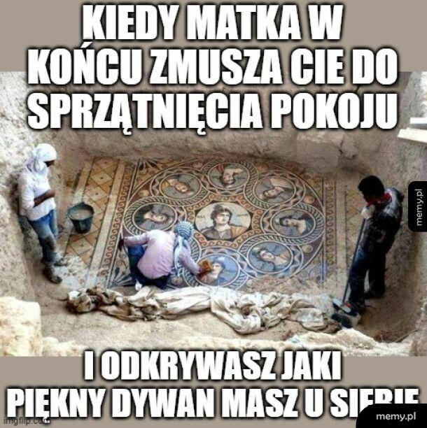 Sprzątanko-archeologiwanko