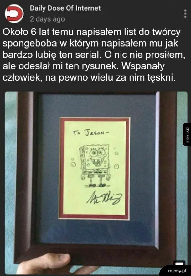 Twórca Spongeboba