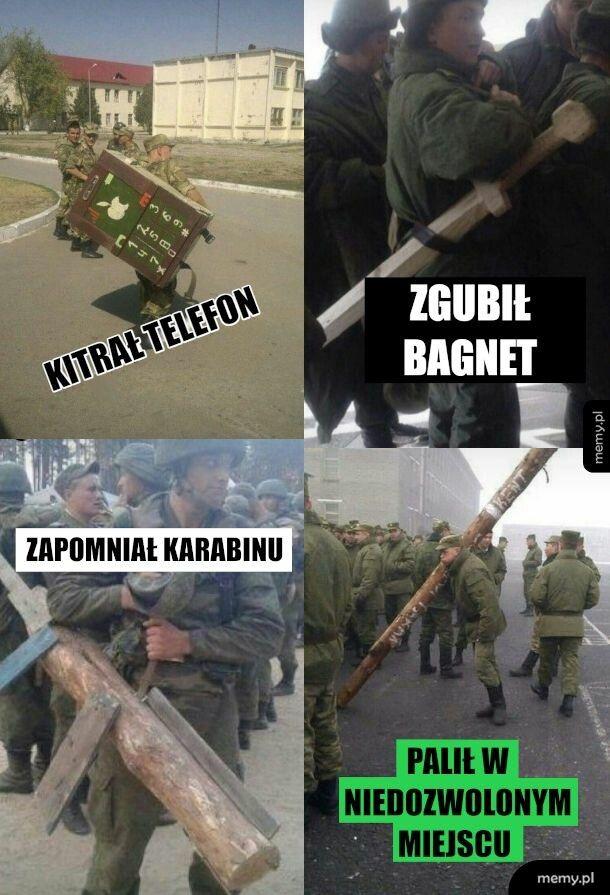 Wojskowe kary w wojsku