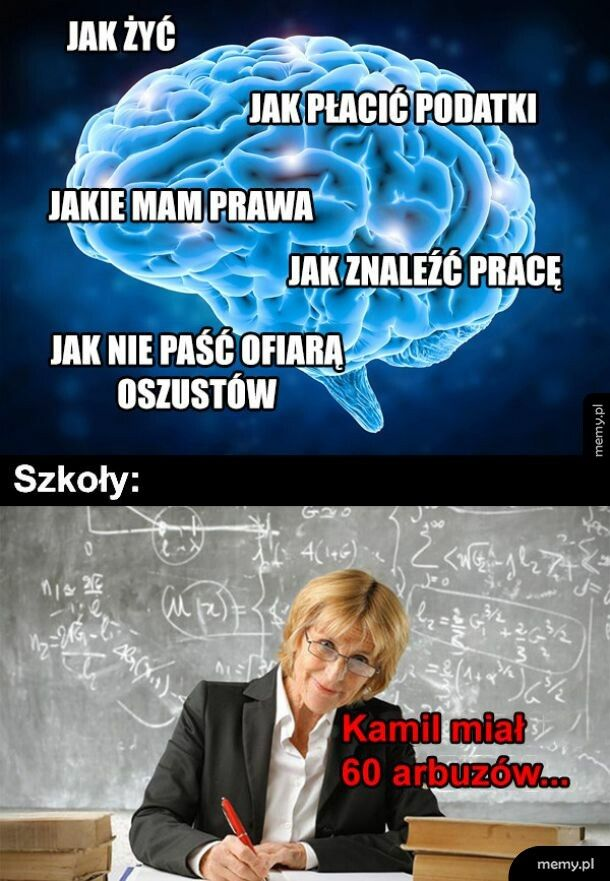 Życie vs szkoła
