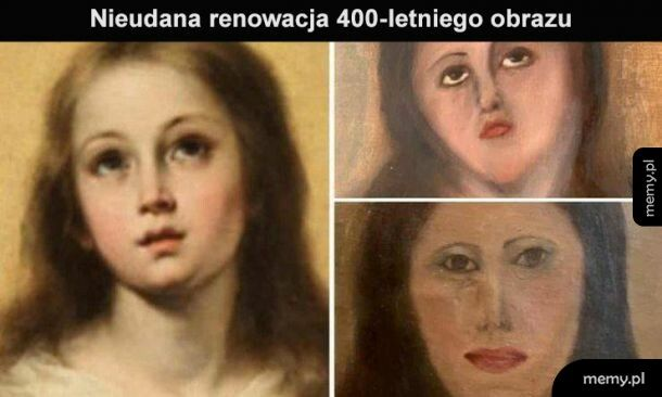 Renowacja obrazu