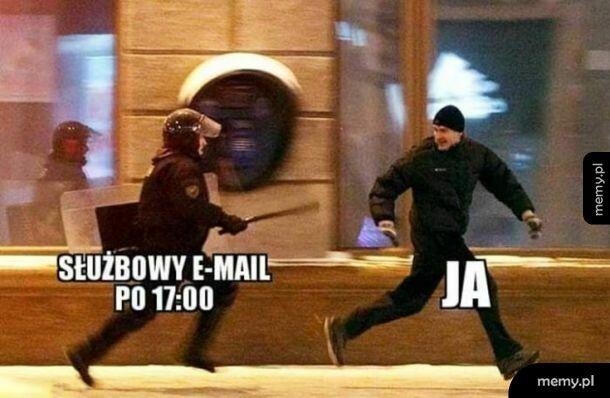 Służbowy email