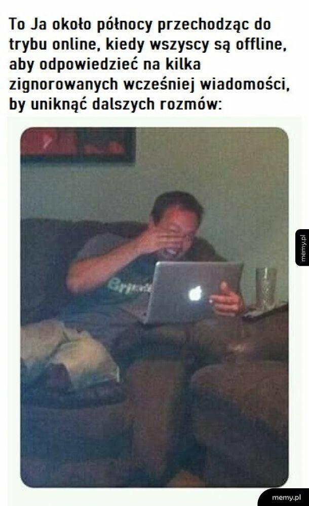 W trybie online