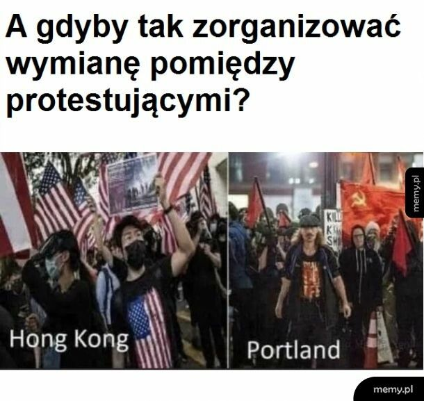 Protestujący
