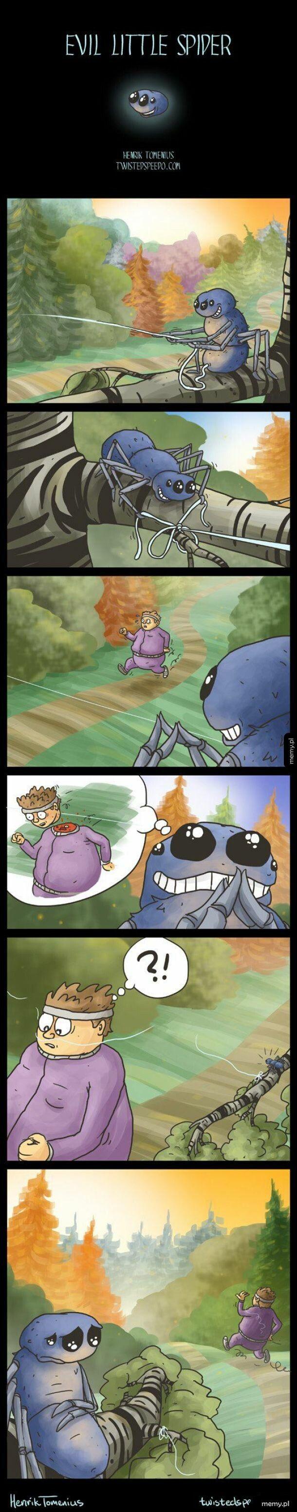 Evil Little Spider