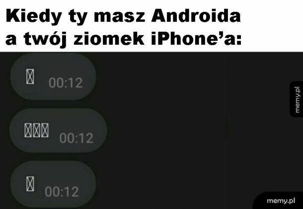 Android i iPhone