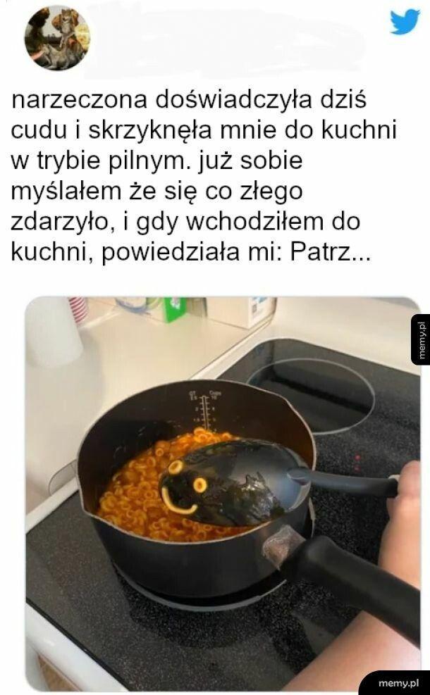 Buzię widzę na tej zupie