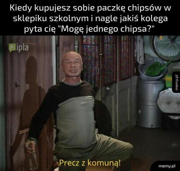 Kupowanie chipsów