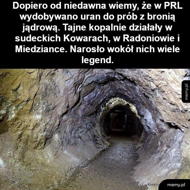 Tajne kopalnie PRLu