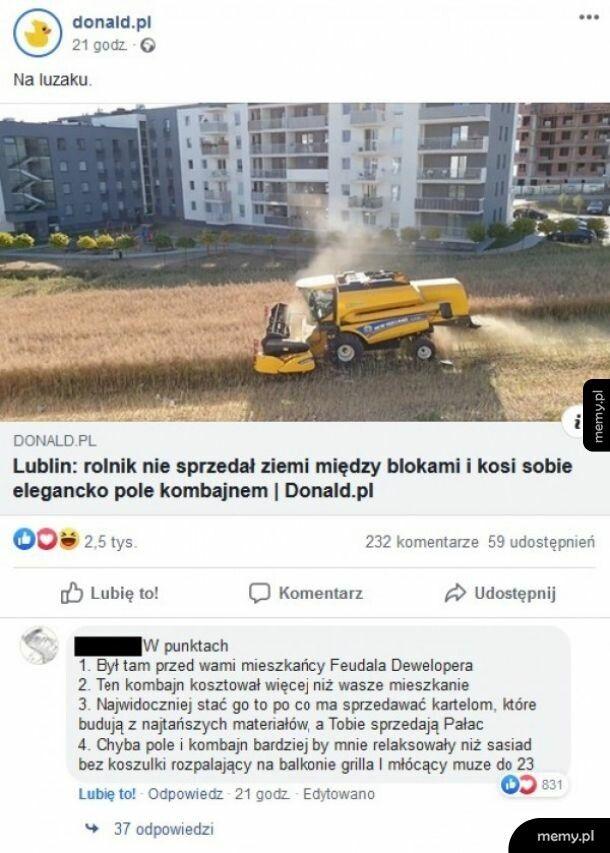 Sprzedaż ziemi