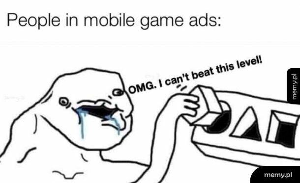 Reklamy gier mobilnych powinny być zakazane