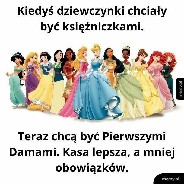 Księżniczki vs Pierwsze Damy