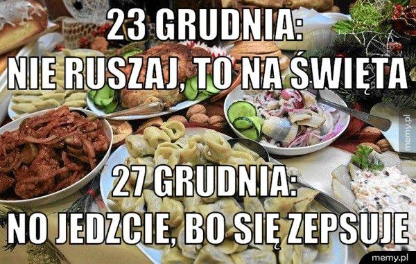 23 grudnia:                    nie ruszaj, to                      27 grudnia:                      no jedzcie