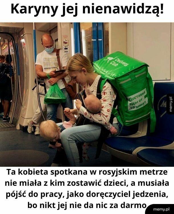Demoralizuje Polki