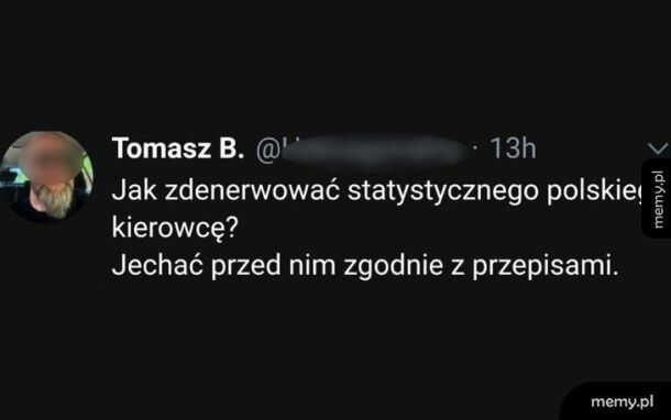 Jak zdenerwować polskiego kierowcę